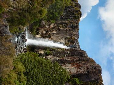 Taranaki Falls in the Tongariro National Park waterfall
