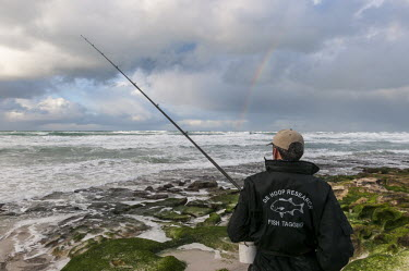 Fish tagging African conservation photography,Coastline,De Hoop Nature Reserve & Marine Protected Area,Horizontal,South Africa,Western Cape,africa,african,color,colour,day,fishing,holiday destination,image,monitor