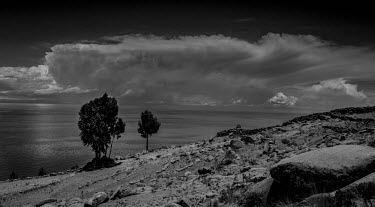 Lake Titicaca, Peru Lake Titacaca,outdoors,Peru,lakes,water,landscapes,freshwater,stormy,moody,arty,clouds,Cultural,Hiking,Inca Trail,Outdoors