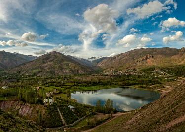 Evan Lake, Qazvin, Iran Lake,lakes,habitat,clouds,cloud,sky,landscapes,landscape,mountains,humans,town
