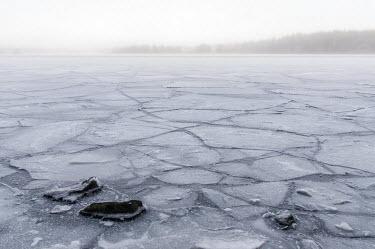 Icy landscape Bred�ng,Stockholm,winter,Bredang,Sweden,ice,cracked,frozen,lake,surface,landscape,shallow focus,misty,white,grey,freezing,water,christmas,fog,mist,bred+�ng_sweden,Vinter