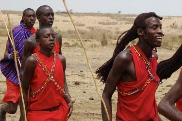 Maasai men tending to the herd africa,people,man,men,Maasai,horizontal,kenya,traditional