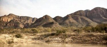 African landscape landscape,canyon,savanna,savannah,hill,hills,water hole,scenery,Africa,habitat,habitats