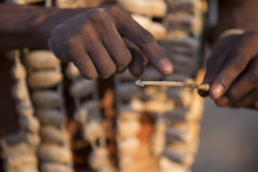 Botswana Bushmen spear - Botswana, Africa people,human,bushmen,bushman,indigenous