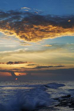 Sunset over beach - Cousine Island, Seychelles beach,beaches